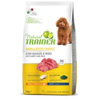 Natural Trainer Small & Toy con Manzo & Riso