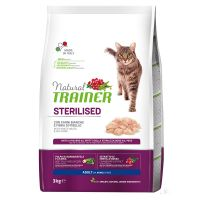 Natural Trainer Sterilised con Carni Bianche