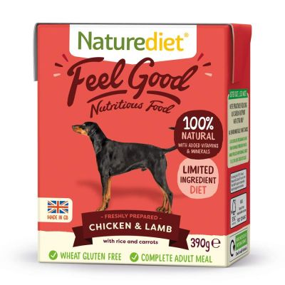 Naturediet Feel Good Adult - Chicken & Lamb
