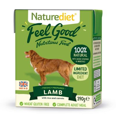 Naturediet Feel Good Adult - Lamb