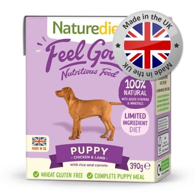 Naturediet Feel Good Puppy - Chicken & Lamb