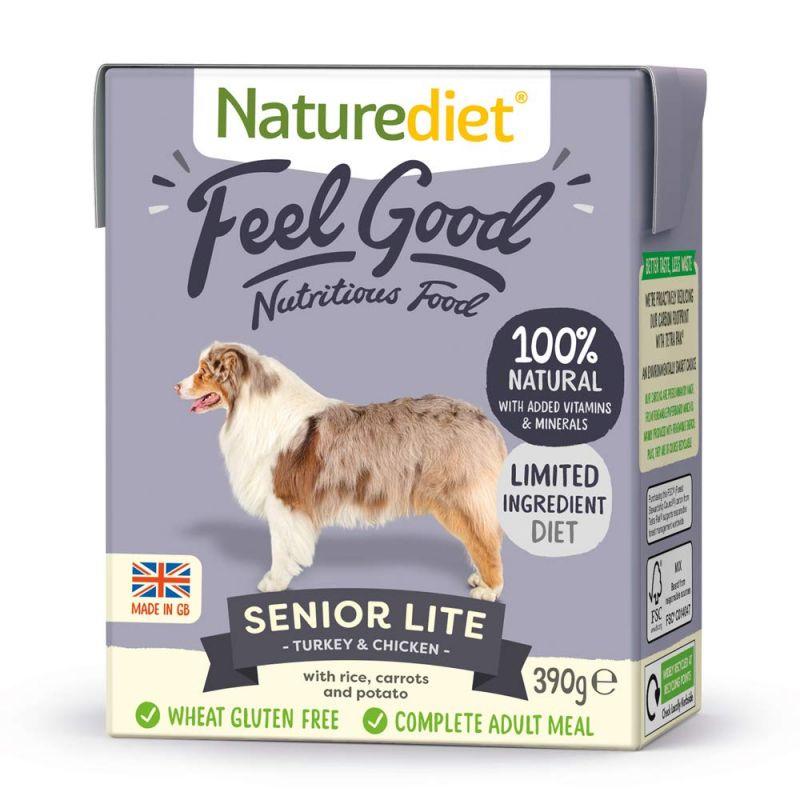Naturediet Feel Good Senior Lite - Turkey & Chicken