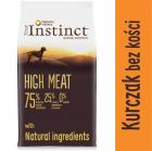 Nature's Variety True Instinct Dog High Meat Medium-Maxi, kurczak z wolnego wybiegu