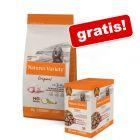 Nature's Variety Original, 7/10 kg + karma mokra, 8 x 150/300 g gratis!