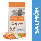 Nature's Variety Original No Grain Medium Adult salmón sin espinas