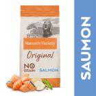 Nature's Variety Original No Grain Medium Adult saumon pour chien