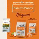 Nature's Variety Original No Grain Mini Adult saumon pour chien