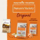 Nature's Variety Original Sterilised saumon pour chat