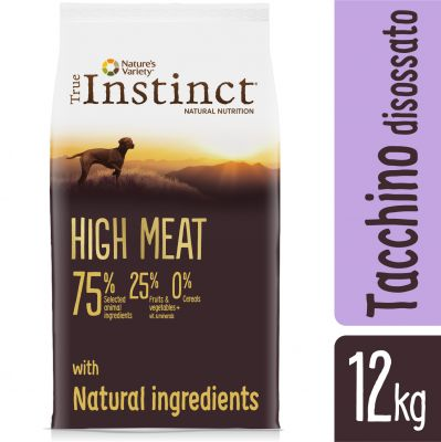 Nature's Variety True Instinct High Meat Adult Tacchino