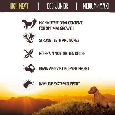 Nature's Variety True Instinct High Meat Dog Junior Chicken Hondenvoer