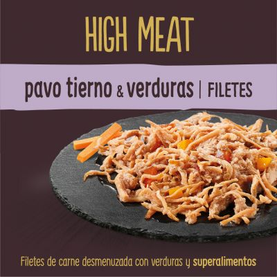 Nature's Variety True Instinct High Meat Fillets 8 x 70 g para gatos