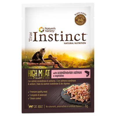 Nature's Variety True Instinct High Meat Fillets 8 x 70 g pour chat