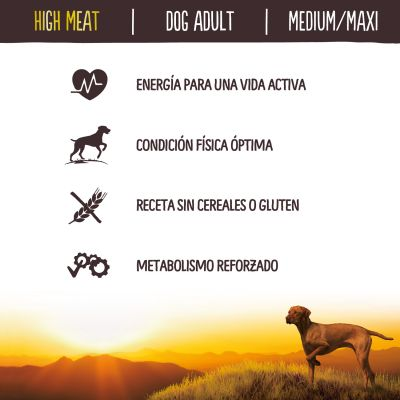 Nature's Variety True Instinct High Meat Medium-Maxi con pollo campero