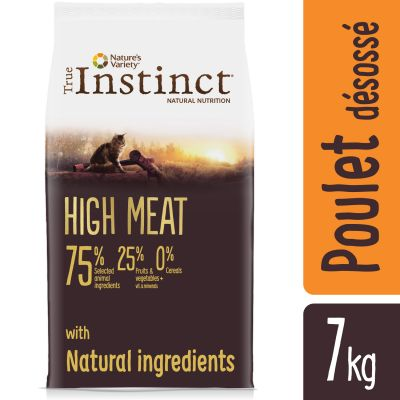 Nature's Variety True Instinct High Meat poulet pour chat