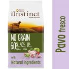 Nature's Variety True Instinct No Grain Medium-Maxi con pavo fresco