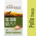 Nature's Variety True Instinct No Grain Medium-Maxi con pollo