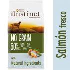 Nature's Variety True Instinct No Grain Medium-Maxi con salmón