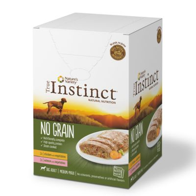 Nature's Variety True Instinct No Grain Medium/Maxi Multipack