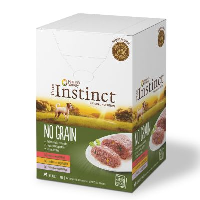 Nature's Variety True Instinct No Grain Mini Multipack