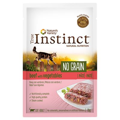 Nature's Variety True Instinct No Grain Paté 16 x 70 g gatos - Pack Ahorro