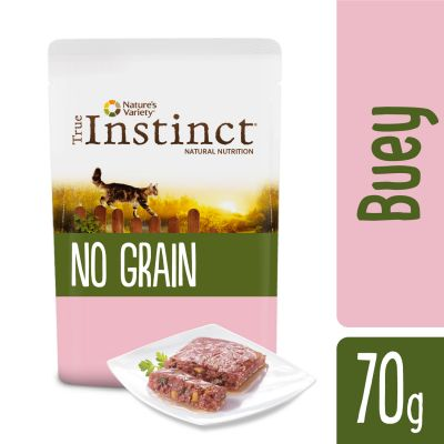 Nature's Variety True Instinct No Grain Paté 8 x 70 g para gatos