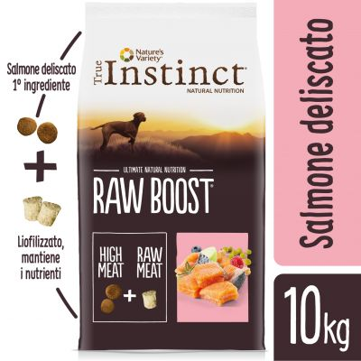 Nature's Variety True Instinct Raw Boost Salmone