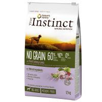 Nature's Variety True Instinct Sem Cereais Medium/Maxi peru