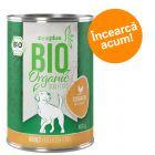 Încearcă acum! zooplus Bio 1 x 400g Hrană umedă câini