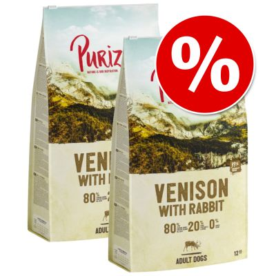 New Recipe: Purizon Grain-Free 80:20:0 Economy Packs 2 x 12kg