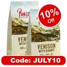 New Recipe: Purizon Grain-Free 80:20:0 Economy Packs 2 x 12kg