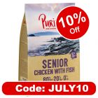 New Recipe: Purizon Senior Chicken with Fish – Grain-free
