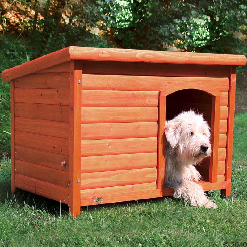 Niche Trixie Natura à toit plat pour chien