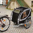 No Limit Doggy Liner Paris de Luxe biciklis kutyaszálltó utánfutó
