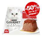 Nourriture humide Gourmet Revelations Mousseline pour chat : - 50 % sur le 2ème paquet !
