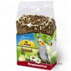 Nourriture JR Farm Individual pour perruche calopsitte