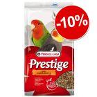 Nourriture Versele-Laga Prestige pour grande perruche : 10 % de remise !