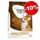 NOUVEAU : Croquettes Concept for Life Sterilised 4 kg : 10% de remise !