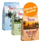 NUEVA RECETA: Purizon Adult sin cereales 3 x 1 kg - Pack de prueba mixto