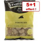 Nuggets de poulet FetteBeute pour chien 5 sachets + 1 offert !