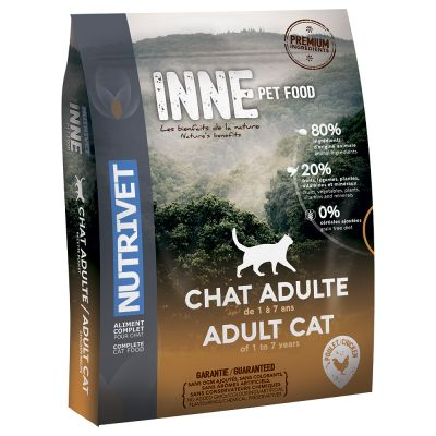 Nutrivet Inne Adult Chicken Dry Cat Food