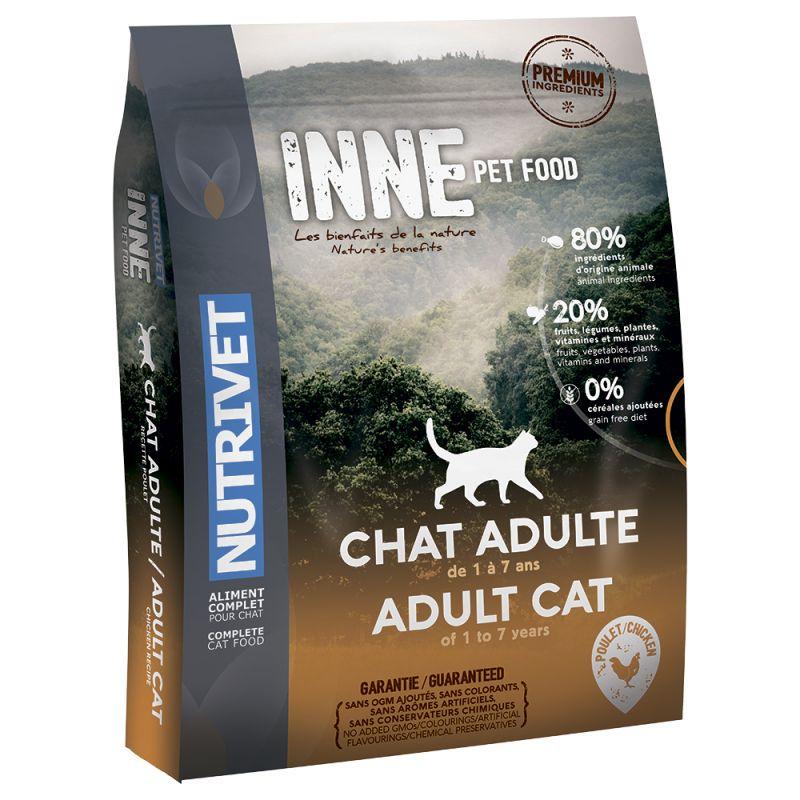 Nutrivet Inne Adult Chicken Dry Cat Food
