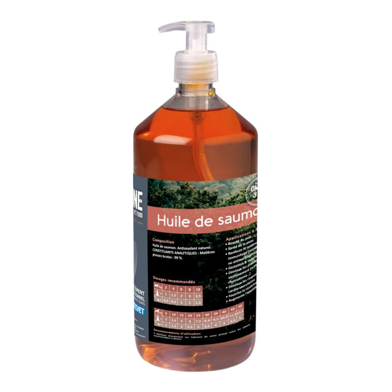 Nutrivet Inne lososový olej