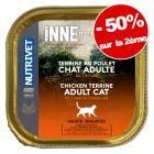 Nutrivet Inne Terrine 2 packs de 10 x 150 g : 50 % de remise sur le 2ème  !