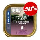Nutrivet Inne Terrine pour chat 10 x 150 g : 30 % de remise !