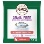 Nutro Cat Grain Free Adult Somon și pește alb