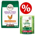 Nutro Grain-Free Dry Dog Food + Greenies Dental Chews - Bundle Price!*