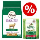 Nutro Grain-Free Junior Dry Food + Greenies Dental Chews - Bundle Price!*