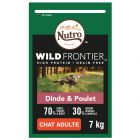 Nutro Wild Frontier Adult dinde, poulet pour chat