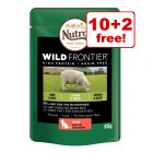 Nutro Wild Frontier Wet Cat Food Mixed Pack - 10 + 2 Free!*