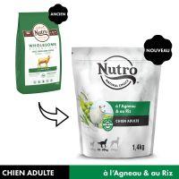 Nutro Adult 10-30 kg agneau, riz pour chien